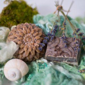 Kronseifen handgemachte Naturseife - Haar-Seife