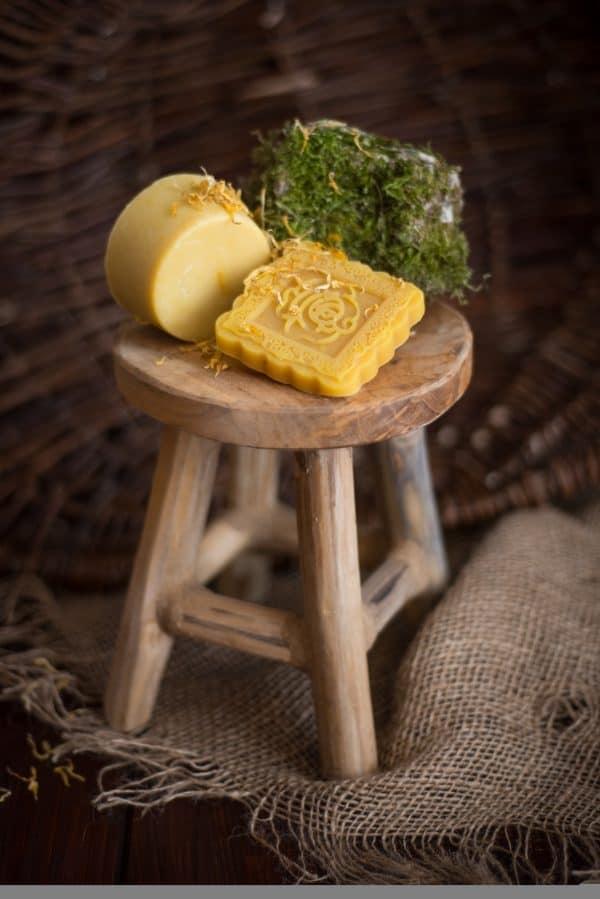 Kronseifen handgemachte Naturseife - Melissen-Seife