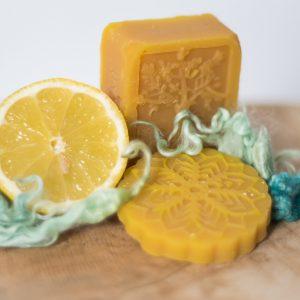 Kronseifen handgemachte Naturseife - Zitronen-Seife