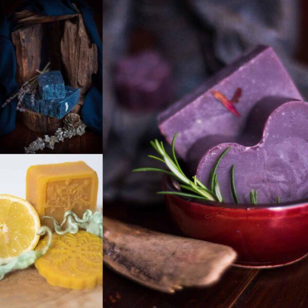 Kronseifen handgemachte SeifeNaturseife Naturkosmetik Probierpaket Seife-Online-Shop