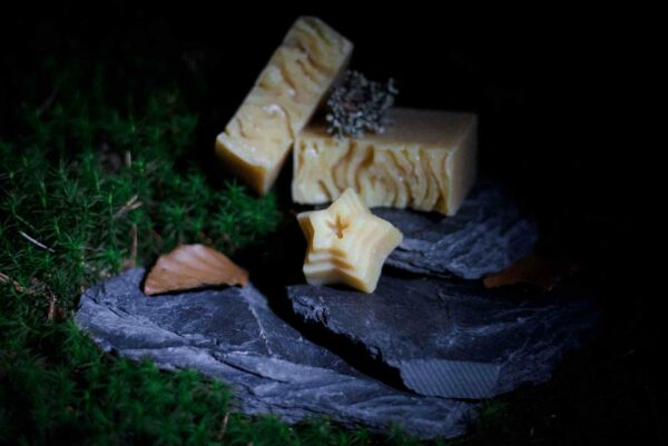 Kronseifen handgemachte Seife Naturseife Mondschein-Seife